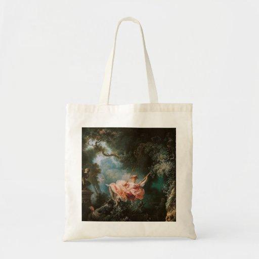 Jean-Honoré Fragonard's The Swing Canvas Bags