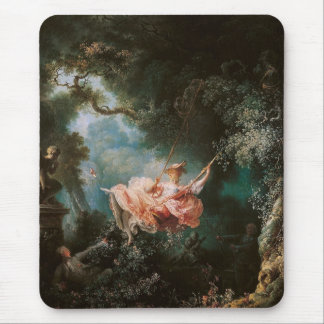 Jean-Honoré Fragonard's The Swing Mouse Mat
