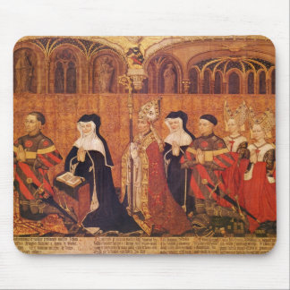 Jean I Jouvenel des Ursins  with wife and Mouse Mat