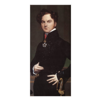 Jean Ingres- Amedee-David, the Comte de Pastoret Personalized Rack Card