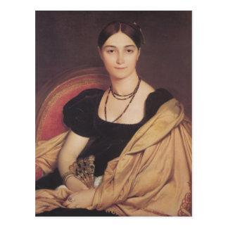 Jean Ingres- Portrait of Madame Antonia Postcard