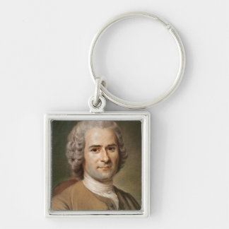 Jean-Jacques Rousseau  after 1753 Key Ring