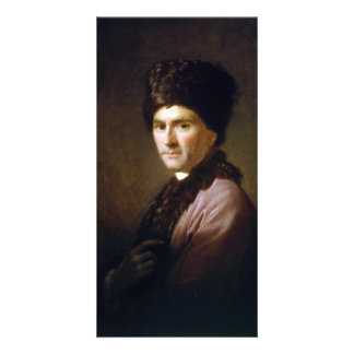 Jean-Jacques Rousseau by Allan Ramsay (1766) Custom Photo Card