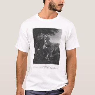Jean-Jacques Rousseau composing 'Emile' T-Shirt