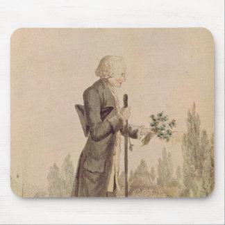Jean-Jacques Rousseau  Gathering Herbs Mouse Mat