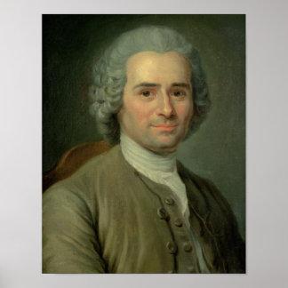 Jean-Jacques Rousseau Poster