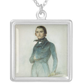 Jean Joseph Louis Blanc  1835 Silver Plated Necklace