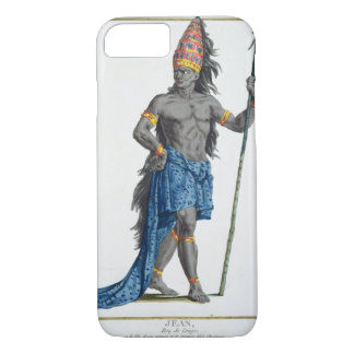 Jean, King of the Congo, engraved by Pierre Duflos iPhone 8/7 Case