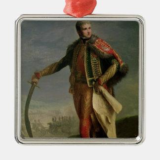 Jean Lannes  Duke of Montebello Silver-Colored Square Decoration