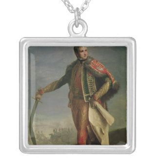 Jean Lannes  Duke of Montebello Silver Plated Necklace
