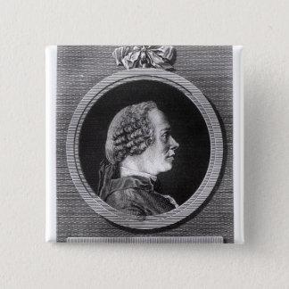 Jean le Rond d'Alembert 15 Cm Square Badge