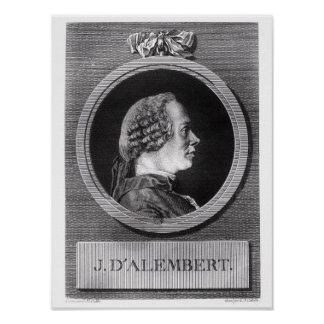 Jean le Rond d'Alembert Poster