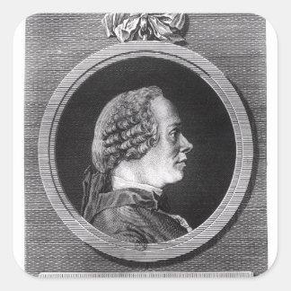Jean le Rond d'Alembert Square Sticker