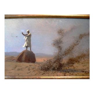 Jean-Leon Gerome- Arab Frightening Larks Away Post Card