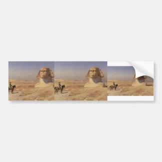 Jean-Leon Gerome- Bonaparte Before the Sphinx Bumper Sticker