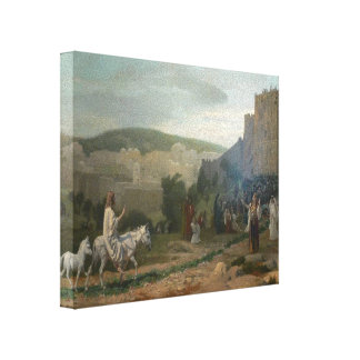 Jean-Leon Gerome- Entry of the Christ in Jerusalem Stretched Canvas Prints