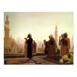Jean-Leon Gerome- Prayer in Cairo Postcard