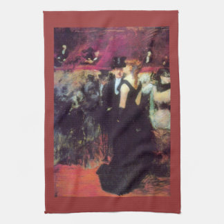 Jean-Louis Forain - Paris Opera Tea Towel