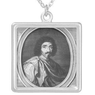 Jean Louis Guez de Balzac Silver Plated Necklace