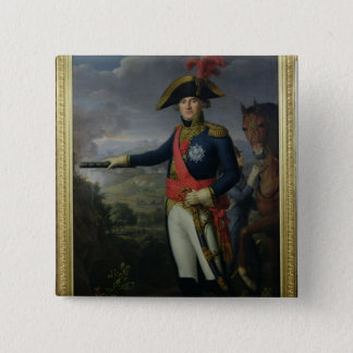 Jean Mathieu Philibert Serurier  Comte d'Empire 15 Cm Square Badge