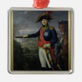 Jean Mathieu Philibert Serurier  Comte d'Empire Silver-Colored Square Decoration