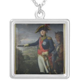 Jean Mathieu Philibert Serurier  Comte d'Empire Silver Plated Necklace