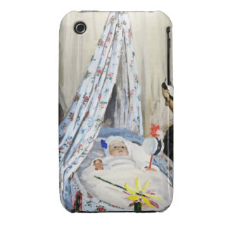 Jean Monet in the Cradle Claude Monet cool old iPhone 3 Cover