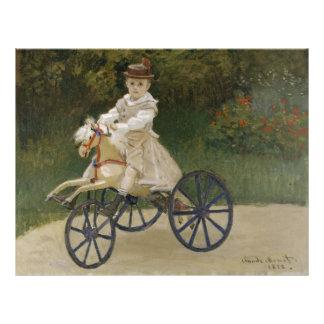 Jean Monet on his hobby horse Custom Flyer