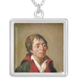 Jean-Paul Marat Silver Plated Necklace