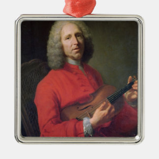 Jean-Philippe Rameau  with a Violin Christmas Ornament