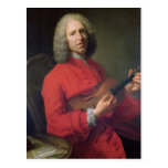 Jean-Philippe Rameau  with a Violin Post Card