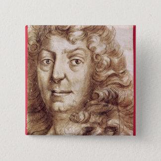 Jean Racine 15 Cm Square Badge