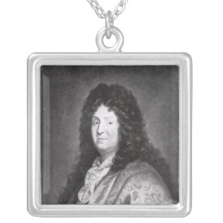 Jean Racine Silver Plated Necklace