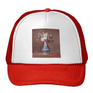 Jean Simeon Chardin- Still Life, Flowers in a Vase Hats