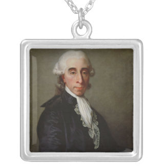 Jean-Sylvain Bailly  1789 Silver Plated Necklace