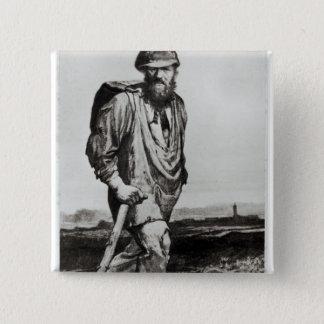 Jean Valjean 15 Cm Square Badge