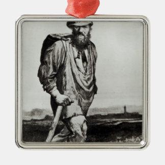 Jean Valjean Christmas Ornament