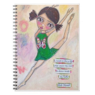"""Jeanette MacDonald Ballerina"" Journal"