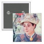 Jeanette Rubenson, 1883 15 Cm Square Badge