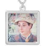 Jeanette Rubenson, 1883 Square Pendant Necklace