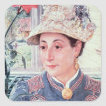 Jeanette Rubenson, 1883 Square Sticker