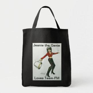 Jeanie the Genie Tote Bag