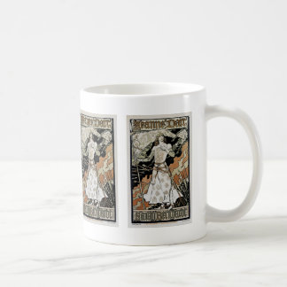 Jeanne d'Arc ~ Sarah Bernhardt Basic White Mug