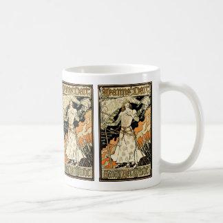 Jeanne d'Arc, Sarah Bernhardt Basic White Mug