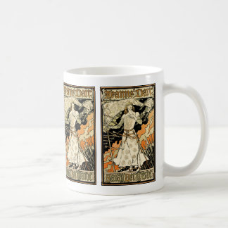 Jeanne d'Arc, Sarah Bernhardt Classic White Coffee Mug