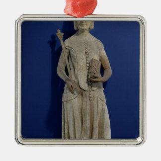 Jeanne de Bourbon  1365-80 Christmas Ornament