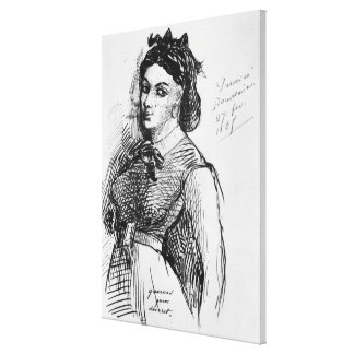 Jeanne Duval, 1865 Gallery Wrap Canvas