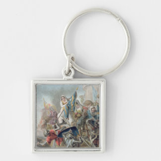 Jeanne Laisne Raises a Standard Against the Men of Silver-Colored Square Key Ring