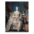 Jeanne Poisson  the Marquise de Pompadour, 1755 Postcard