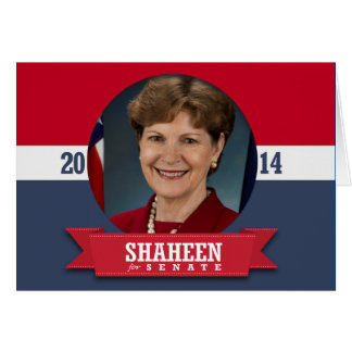 JEANNE SHAHEEN CAMPAIGN GREETING CARD
